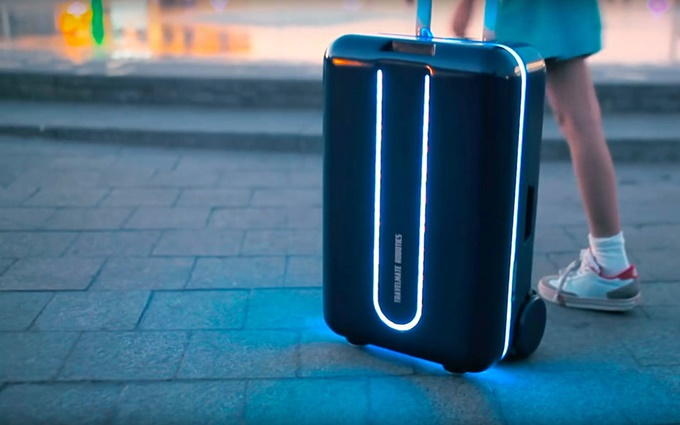 Amazing Travelmate Robotics Suitcase
